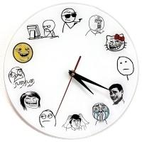 """Часы """"TrollFace"""""""