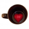 Кружка с сердцем