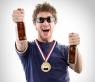 Олимпийская медаль-открывашка