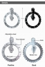 Настенные часы Big Wheel Clock