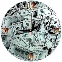 Часы Доллары