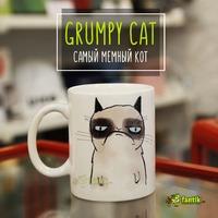 "Кружка ""Grumpy cat"""