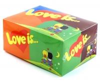 Блок жвачек Love is - Ассорти (100шт.)