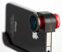 "Объектив Fisheye ""3 в 1"" для iPhone 4/4s"