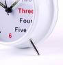 Часы Letter Alarm Clock