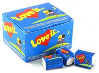 Блок жвачек Love is (12шт.)